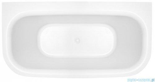 Novoterm Mona wanna wolnostojąca przyścienna 150x75 cm biała MONA150