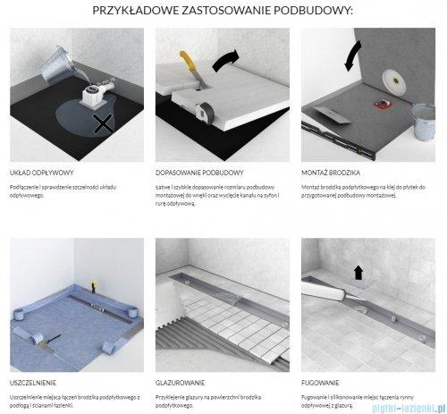 Schedpol nośnik styropianowy uniwersalny do brodzików prostokątnych i kwadratowych 140x100cm 10.100