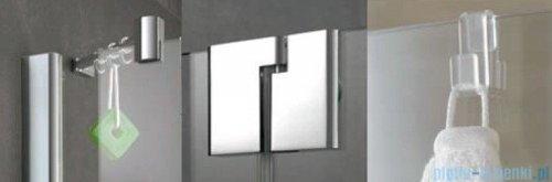 Kermi Pasa XP Parawan 100x150cm prawy szkło przezroczyste profil srebro połysk PXDTR10015VAK