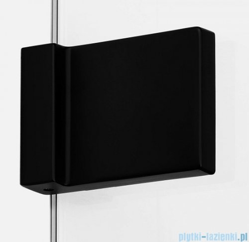 New Trendy Avexa Black kabina prostokątna 80x100x200 cm przejrzyste lewa EXK-1566