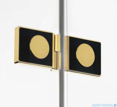 New Trendy Avexa Gold drzwi wnękowe 110x200 cm przejrzyste prawa EXK-1721