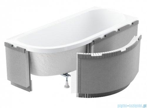 Schedpol zabudowa styropianowa do wanien półokrągłych 1.040-led