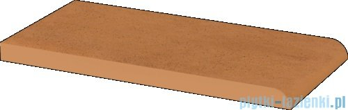 Paradyż Aquarius brown klinkier parapet 10x20