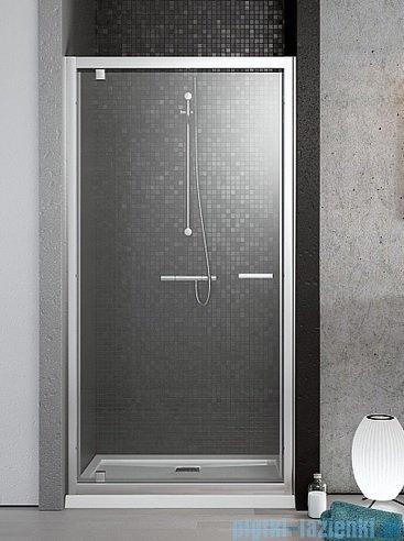 Radaway Twist Drzwi DW prysznicowe 80x190 szkło przejrzyste