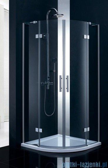 Atrium Parma kabina półokrągła 90x90x195 cm szkło: przejrzyste QF0409