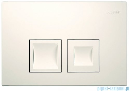 Geberit Delta50 Przycisk spłukujący biały 115.135.11.1