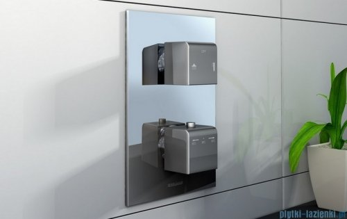 Kohlman Excelent termostatyczna podtynkowa bateria wannowo-prysznicowa z dwoma wyjściami