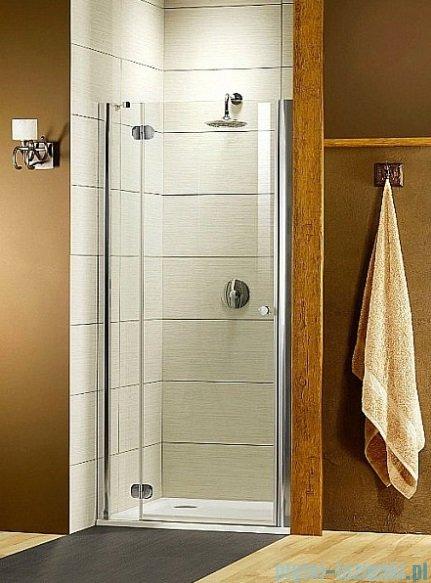 Radaway Torrenta DWJ Drzwi prysznicowe 110 Lewe szkło przejrzyste