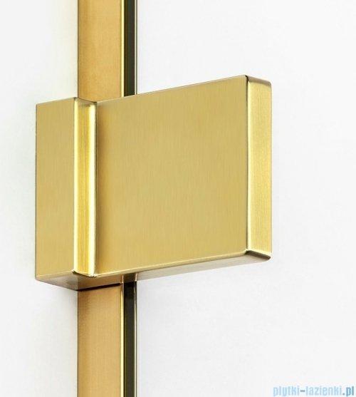 New Trendy Avexa Gold parawan nawannowy 2-częściowy 140x150 cm lewy przejrzyste EXK-2018