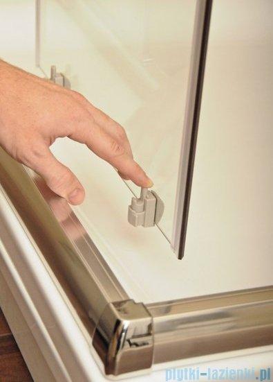 Ravak Blix BLDP2 drzwi prysznicowe 100cm satyna grape Anticalc 0PVA0U00ZG