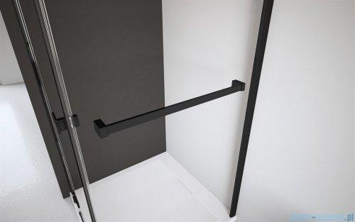 Radaway Furo Black PND II parawan nawannowy 170cm lewy szkło przejrzyste 10109888-54-01L/10112844-01-01