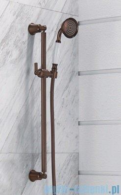 Omnires Armance-S zestaw prysznicowy suwany 1-funkcyjny miedź antyczna Armance-SORB
