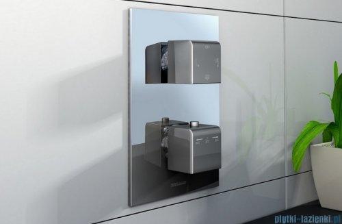 Kohlman Excelent termostatyczna podtynkowa bateria wannowo-prysznicowa z trzema wyjściami