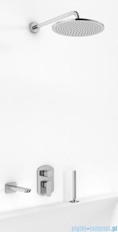 Kohlman Foxal zestaw wannowo-prysznicowy chrom
