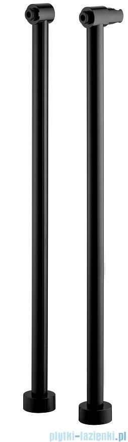 Omnires uniwersalne nogi do baterii wannowych i prysznicowych czarny 8819BL