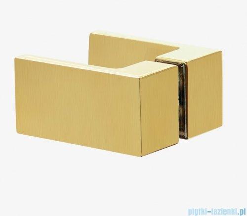 New Trendy Avexa Gold kabina kwadratowa 110x110x200 cm przejrzyste EXK-1887