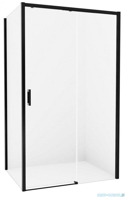 New Trendy Prime Black kabina prostokątna 140x70x200 cm prawa przejrzyste D-0325A/D-0127B
