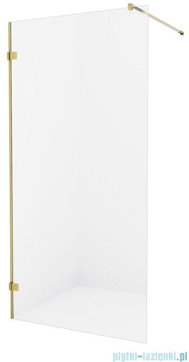 New Trendy Avexa Gold kabina Walk-In 70x200 cm przejrzyste EXK-1792
