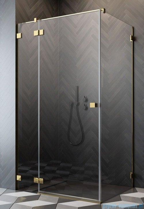 Radaway Essenza Pro Gold Kdj kabina 120x70cm lewa przejrzyste 10097120-09-01L/10098070-01-01