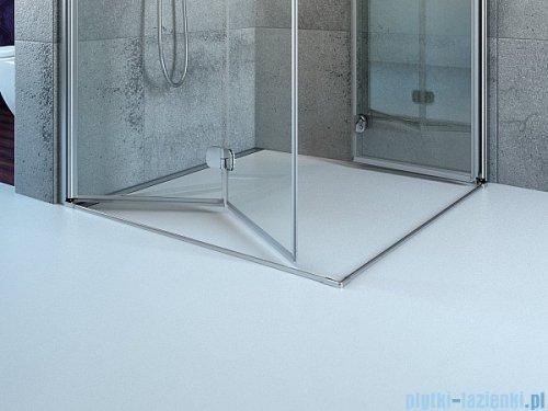 Radaway Euphoria PDD Kabina prysznicowa 80 część prawa szkło przejrzyste 383002-01R