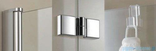 Kermi Diga Parawan 120x150 lewy szkło przezroczyste profil biel DI2PL120152AK