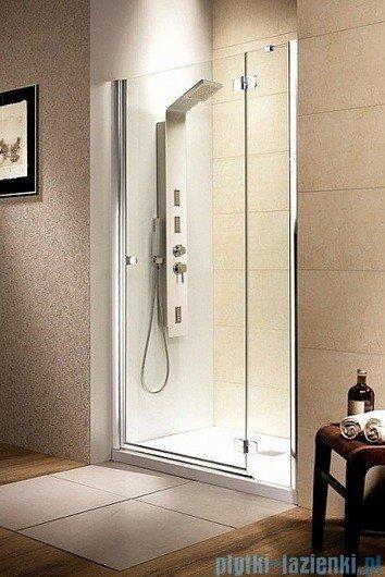 Radaway Drzwi wnękowe Fuenta DWJ 100 prawe szkło brązowe