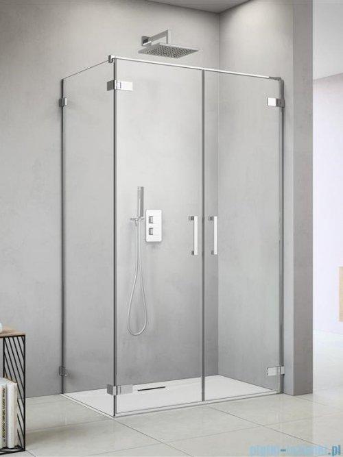 Radaway Arta Dwd+s kabina 100 (55L+45R) x100cm prawa szkło przejrzyste