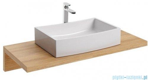 Ravak Formy 02 umywalka nablatowa 50x41cm bez przelewu XJM01250000