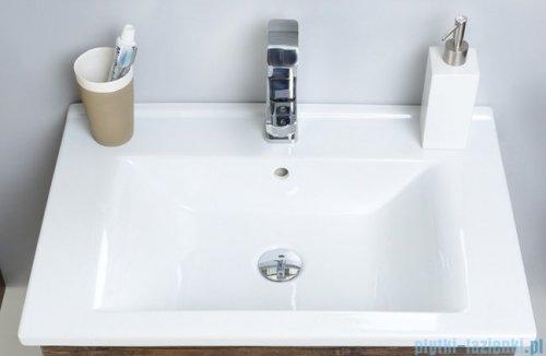 Antado Variete ceramic szafka z umywalką ceramiczną 2 szuflady 62x43x50 szary połysk 670938/667549