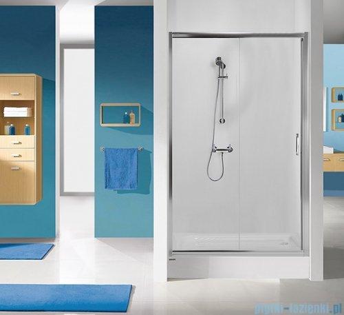 Sanplast Tx drzwi przesuwne D2/TX5b 120x190 cm przejrzyste 600-271-1120-38-401