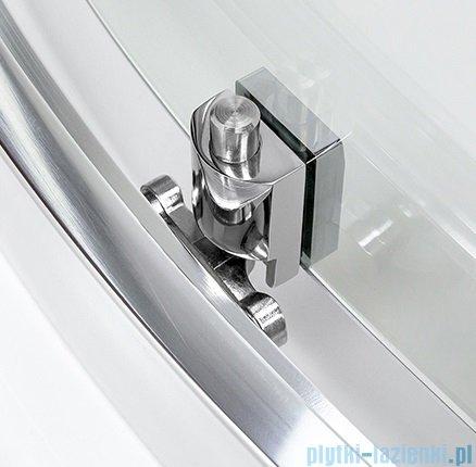 New Trendy New Rondo kabina przyścienna 100x85x190cm przejrzyste+brodzik K-0275/B-0342/S-0023