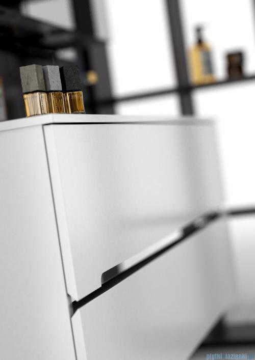 Oristo Silver szafka z umywalką 50x55x44cm biały połysk OR33-SD2S-50-1/UME-SI-50-92