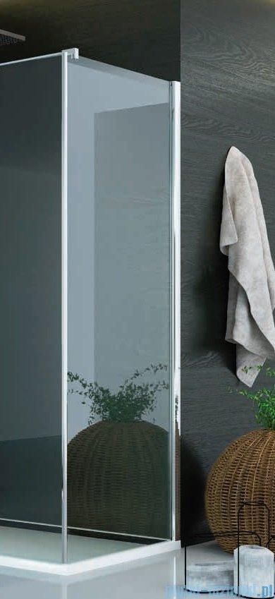 SanSwiss Pur PUDT3P Ścianka boczna wymiary specjalne 100-160/do 200cm satyna PUDT3PSM41049