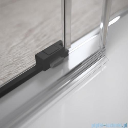 Radaway Idea Black Kdd kabina 100cm część prawa szkło przejrzyste 387062-54-01R