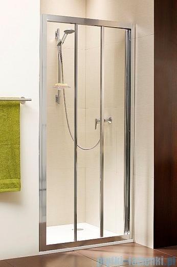 Radaway Treviso DW Drzwi wnękowe 80 szkło brązowe