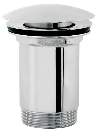 Omnires korek umywalkowy klik-klak bez przelewu chrom A716CR