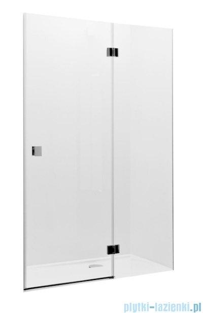 Roca Metropolis drzwi prysznicowe 100cm szkło przejrzyste
