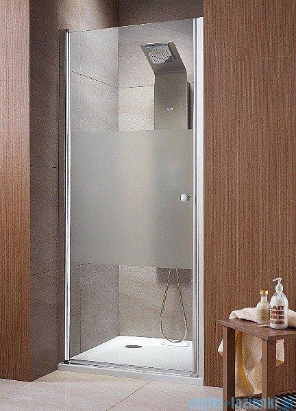 Radaway Eos DWJ Drzwi wnękowe 80 szkło intimato