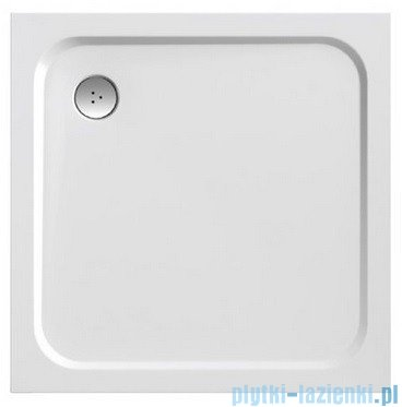 Ravak Brodzik Perseus Pro Chrome 90 biały, konglomerat marmurowy XA047701010