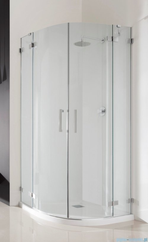 Radaway Euphoria PDD E Kabina prysznicowa 90x80 szkło przejrzyste