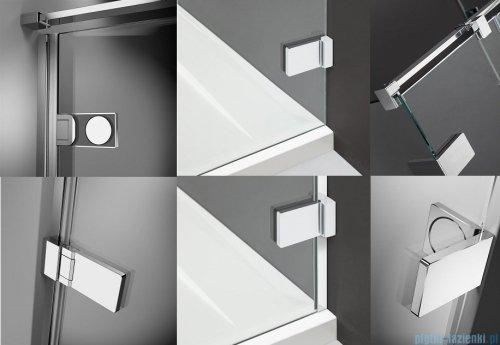 Radaway Arta Kds II kabina 110x90cm lewa szkło przejrzyste 386521-03-01R/386104-03-01/386111-03-01