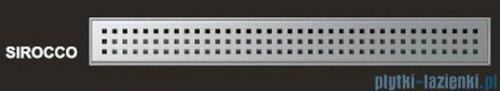 Wiper Odpływ liniowy Premium Sirocco 80cm z kołnierzem szlif S800SPS100