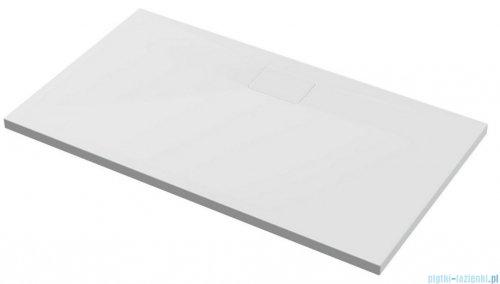 Excellent Zero Brodzik 160X80 prostokątny z pokrywą biały