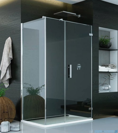 SanSwiss Pur PU31 Kabina prysznicowa 100x70cm prawa szkło przejrzyste PU31PD1001007/PUDT3P0701007
