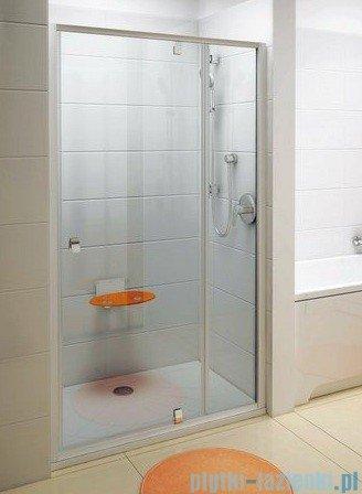 Ravak Drzwi prysznicowe obrotowe Pivot PDOP2-120 satyna transparent 03GG0U00Z1