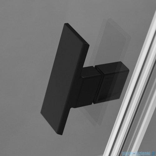 Radaway Nes Black Kdj I kabina 90x75cm lewa szkło przejrzyste 10022090-54-01L/10039075-01-01