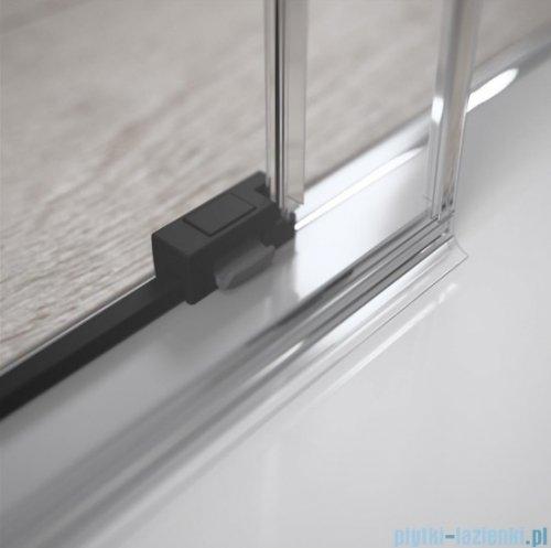 Radaway Idea Black Kdj kabina 100x110cm prawa szkło przejrzyste 387040-54-01R/387053-54-01L