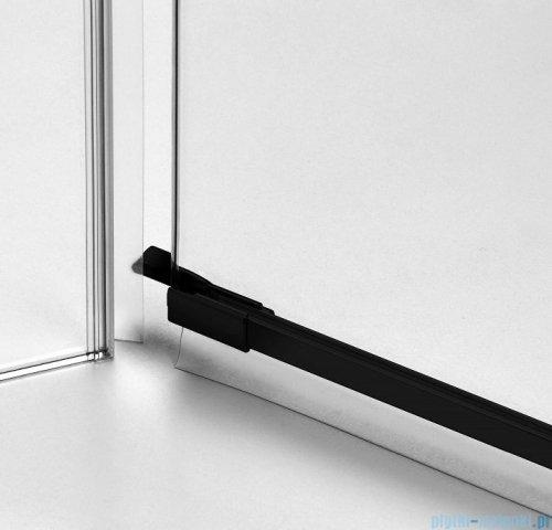 New Trendy Avexa Black kabina prostokątna 110x120x200 cm przejrzyste lewa EXK-1832
