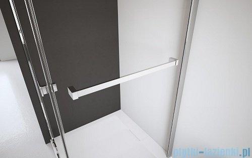 Radaway Eos II KDS kabina prysznicowa 90x80 prawa szkło przejrzyste + brodzik Argos D + syfon 3799481-01R/3799410-01L/4AD89-01