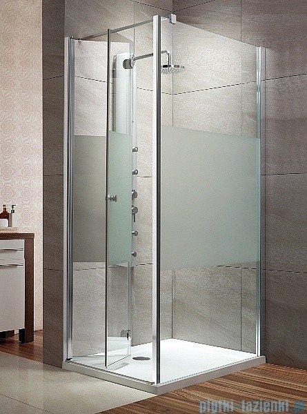 Radaway Eos KDJ-B kabina prysznicowa 80x100 lewa szkło przejrzyste + brodzik Doros D + syfon